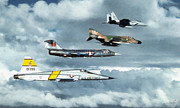 Usaf Framed Prints - Tac Framed Print by Dale Jackson