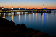 Ruston Prints - Tacoma Sunset Print by Bob Noble Photography