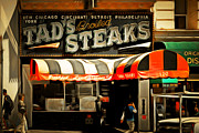 Wingsdomain Art and Photography - Tads Broiled Steaks Restaurant San Francisco 5d17955brun