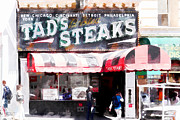 Wingsdomain Art and Photography - Tads Broiled Steaks Restaurant San Francisco 5d17955wcstyle