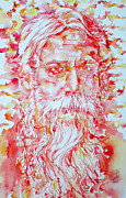 Image  Paintings - Tagore by Fabrizio Cassetta