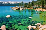 Nevada Framed Prints - Tahoe Bliss Framed Print by Benjamin Yeager