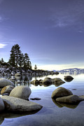 William Havle - Tahoe Blue Winter Sand...