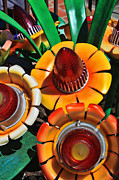 Anaheim California Prints - Tail Light Bouquet Print by Tommy Anderson