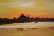 Sanjay Punekar - taj Mahal in the morning