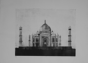 Acrylic Reliefs Prints - Taj Print by Sean Ward