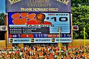 Frank Howard Framed Prints - Tajh Clemson Tigers Greatest Framed Print by Jeff McJunkin