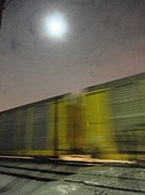 Guy Ricketts Photography Prints - Take a Fast Train Print by Guy Ricketts