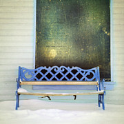 Wintertime Prints - Take A Seat Print by Priska Wettstein