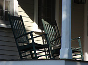 Rocking Chairs Originals - Take it Easy by Ira Shander