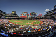 New York Mets Stadium Photo Prints - Take Me Out To The Ballgame Print by Evelina Kremsdorf