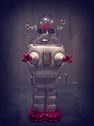 Sci-fi Photo Metal Prints - Take Me To Your Leader Metal Print by Edward Fielding