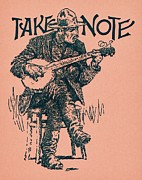 Dale Michels Prints - Take Note Print by Dale Michels