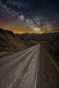 Milkyway Framed Prints - Take the Long Way Home Framed Print by Aaron J Groen