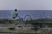 Malecon Prints - Taking a break.. Print by A Rey