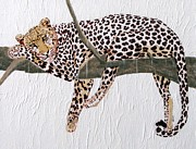 Wildlife Mixed Media Originals - Taking a Break by Stephanie Grant