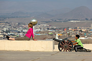 El Morro Photos - Taking Aim by James Brunker