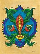 Talavera Flora Print by Susie WEBER