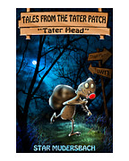 Outer Space Painting Framed Prints - Tales From The Tater Patch Framed Print by Star  Mudersbach