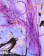 Crows Paintings - Talking Crows by Barbara Tibbets