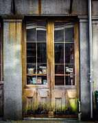 Street Photography Digital Art - Tall Doors by Perry Webster
