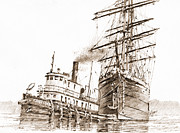 James Williamson - Tall Ship Assist Sepia