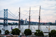 Franklin Art - Tall Ship Gazela at Penns Landing by Bill Cannon