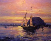 R W Goetting - Tall ship in Morro Bay
