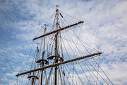 Sailing Ship Framed Prints - Tall Ship Masts Framed Print by Dale Kincaid