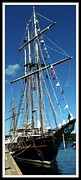 Seagoing Prints - Tall Ship The Peacemaker Print by Gail Matthews