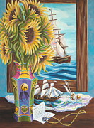 Pamela Poole - Tall Ships and Sunflowers