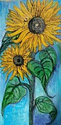 Marilyn  Sahs - Tall Sunflowers