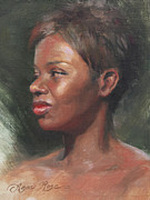African-american Paintings - Talley by Anna Bain