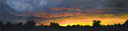 Panorama Painting Originals - Tamarac Sunset by Garry McMichael