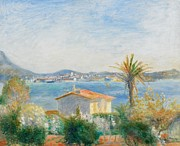 Ocean Views Prints - Tamaris Print by Renoir