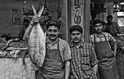Fishmongers Posters - Tamil Nadu - Fishmongers at Coonoor 2 Poster by Urs Schweitzer