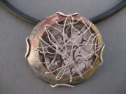 Woven Jewelry Originals - Tanged Necklace by Brenda Berdnik