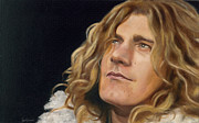 Robert Plant Painting Framed Prints - Tangerine Framed Print by Jena Rockwood