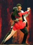 Latin Dance Posters - Tango 05 Poster by James Shepherd