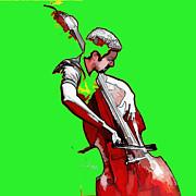 Tango Argentino - The Musician Print by Reno Graf von Buckenberg