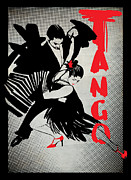 Affiche Mixed Media - TanGo by Tatiana Ivchenkova