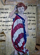 Patriotic Paintings - Tank God by Darlene Graeser