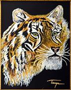 Tanyas Tiger......... Print by Tanya Tanski