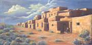 Taos Prints - Taos Afternoon Print by Jerry McElroy