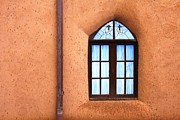 Architectur Metal Prints - Taos Church 2 Metal Print by Kathlene Pizzoferrato