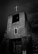 Taos Metal Prints - Taos Church Metal Print by Jeff Klingler
