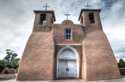 Taos Prints - Taos Church Print by Linda Pulvermacher