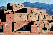 Carl Purcell - Taos Pueblo