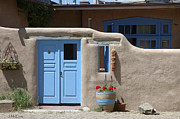 Taos Photo Prints - Taos Street Scene Print by Jerry McElroy