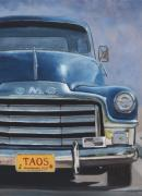 Gmc Framed Prints - Taos Truck Framed Print by Jack Atkins